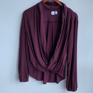 Nordstrom BP | Maroon Cover-Up/Sweater | M